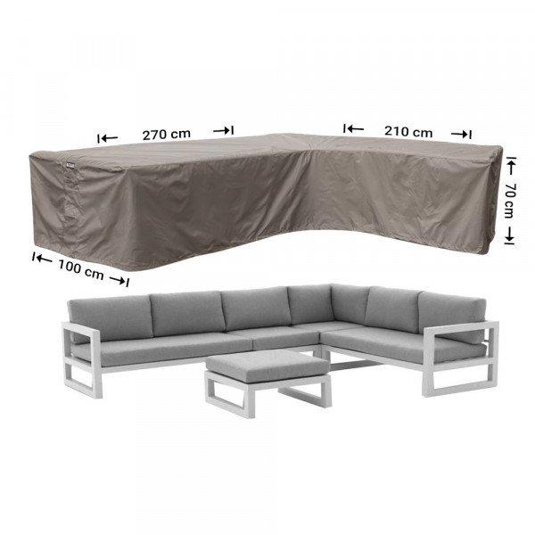 Hoekbank hoes 270 x 210 x 100 H: 70 cm
