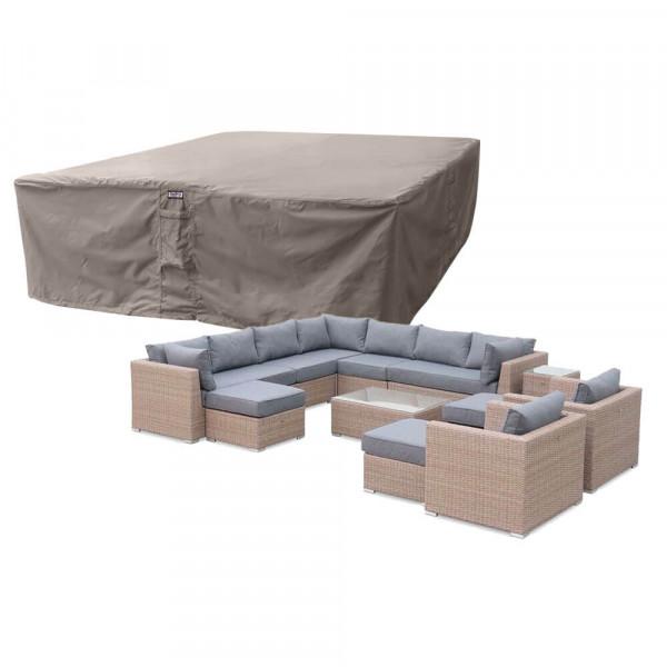Loungeset cover 300 x 300 H: 70 cm