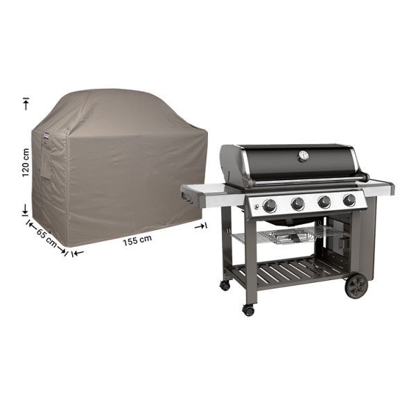Barbecue hoes 155 x 65 H: 120/110 cm