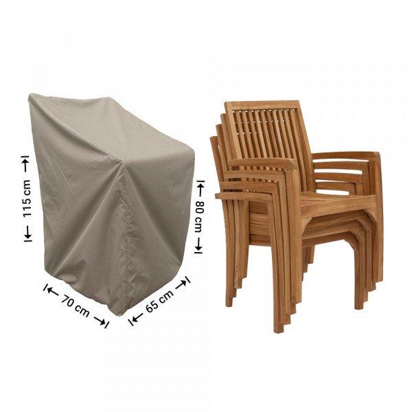 Beschermhoes stapelstoelen 70 x 65 H: 115 cm