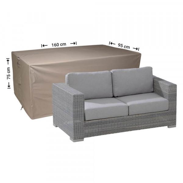 Tuinmeubelhoes loungebank 160 x 95 H: 75 cm